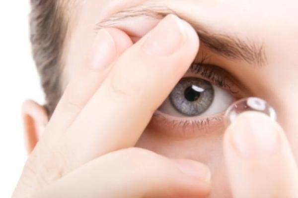 A kontaktlencsék működése