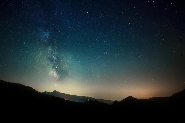 Csillagos ég és látás
