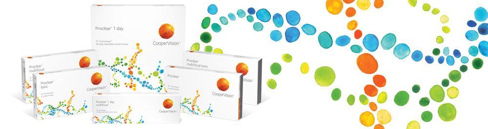 Proclear kontaktlencsék