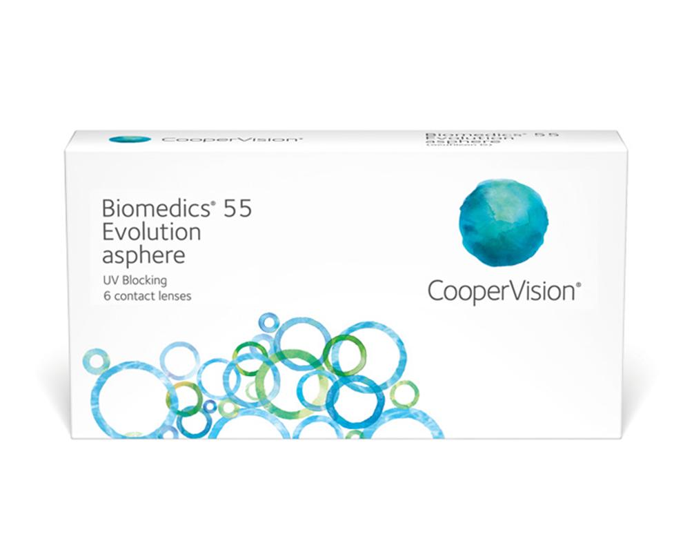 Biomedics 55 kontaktlencse