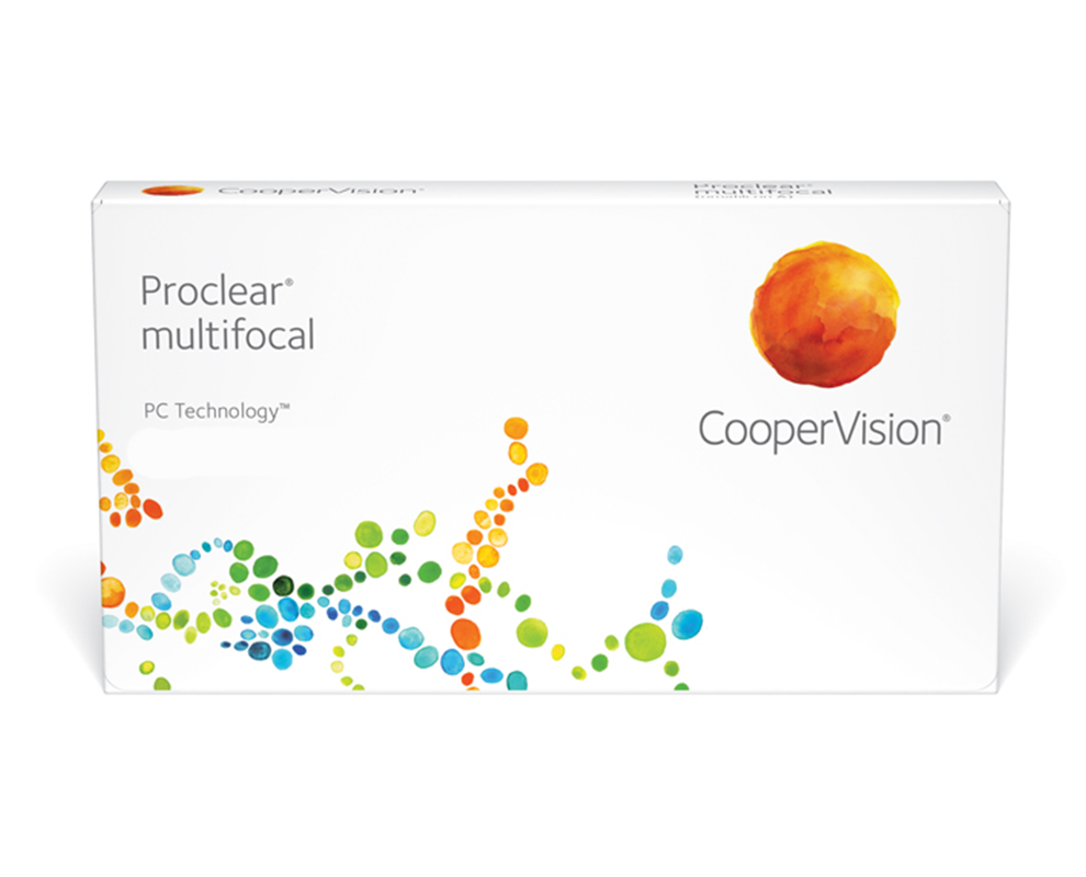 proclear multifocal kontaktlencse doboz