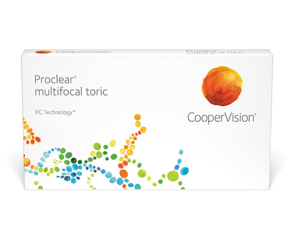 proclear multifocal toric kontaktlencse doboz