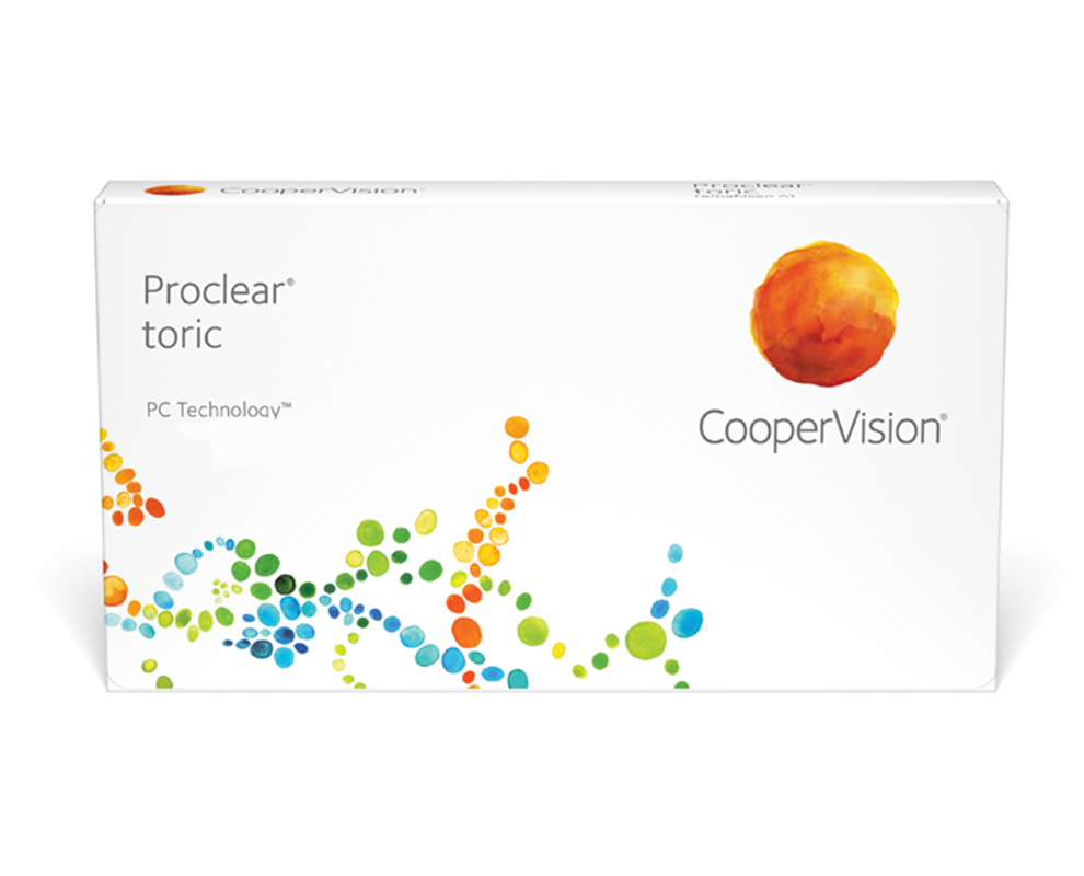 proclear toric kontaktlencse doboz